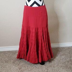 Anthropologie Odille circle skirt